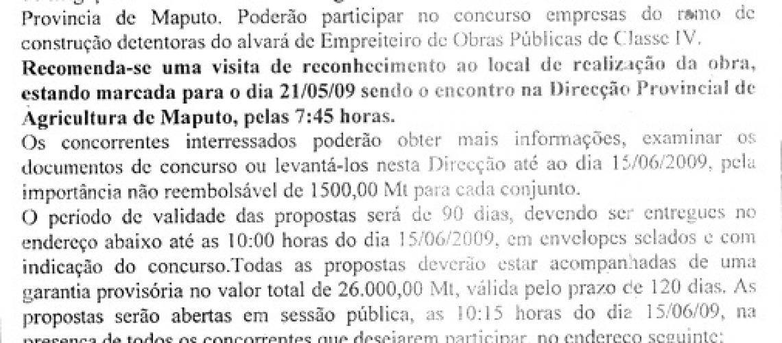 001/DPAM.UGEA/09-OBRAS DE CONST.
