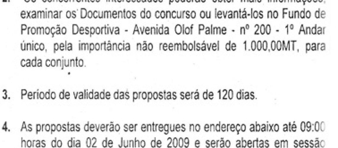 08/UGEA/FPD/2009