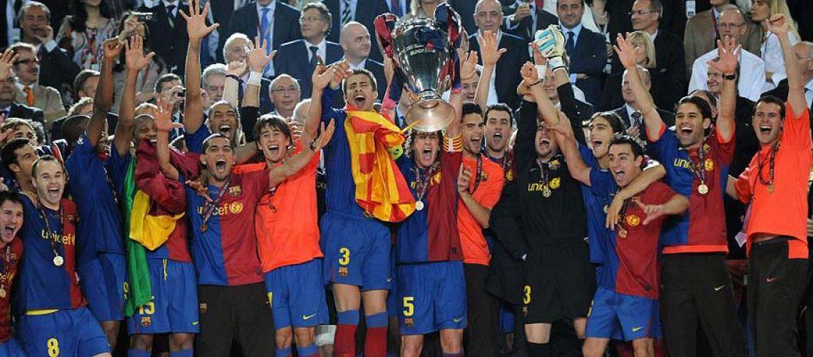 Barcelona vence a Liga dos Campeões