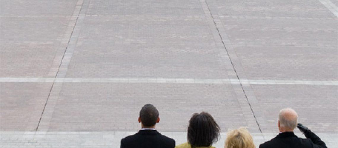 Bush deixa a Casa Branca