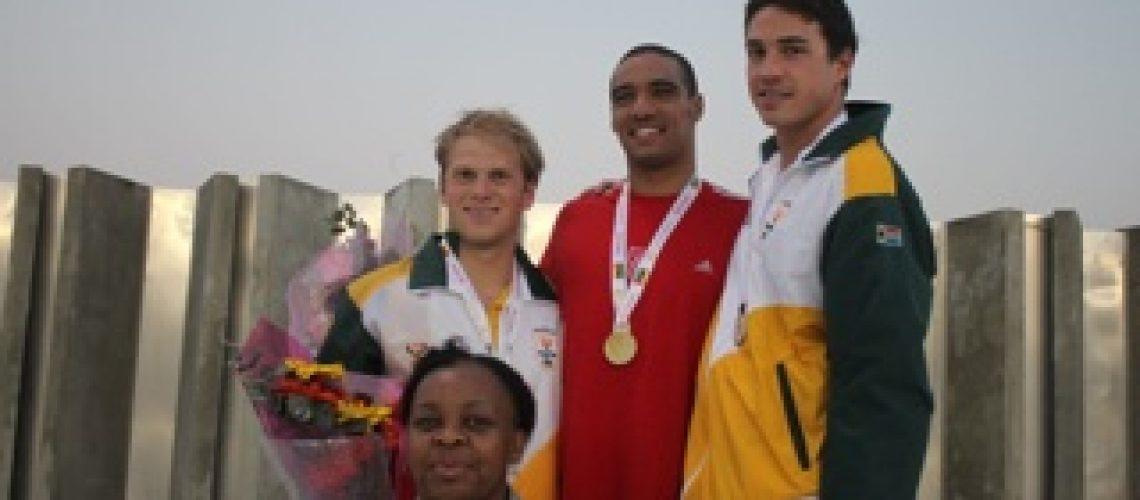 Diários dos X Jogos Africanos: mais três records cairam na piscina do Zimpeto