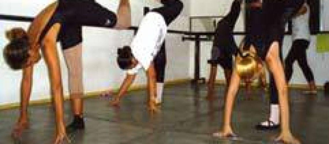O difícil treino dos alunos de bailado