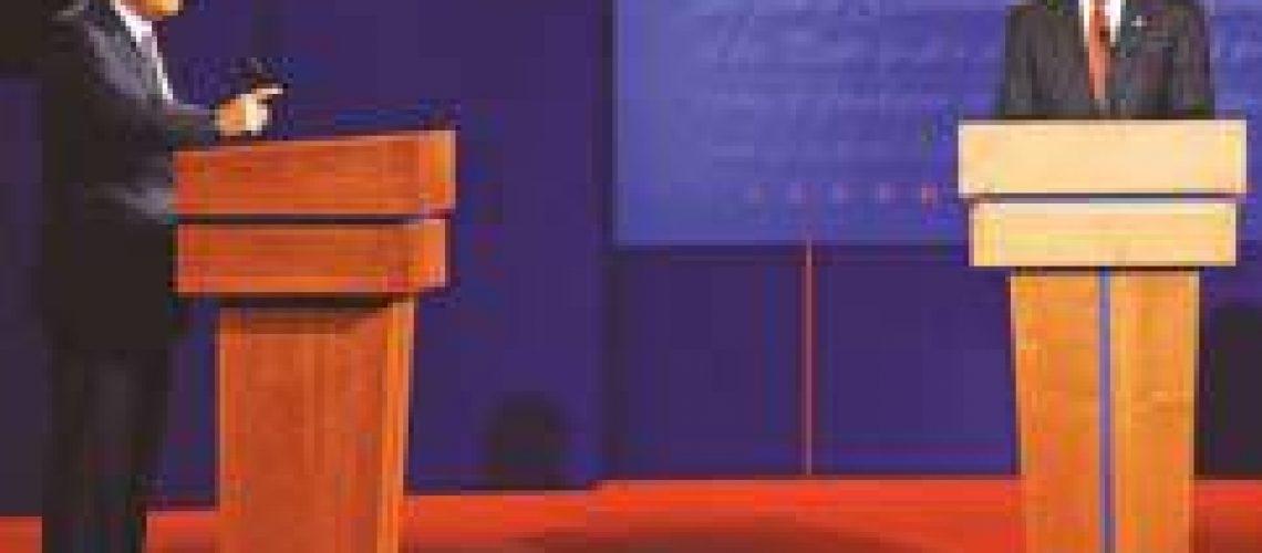Crise financeira e política externa monopolizam debate