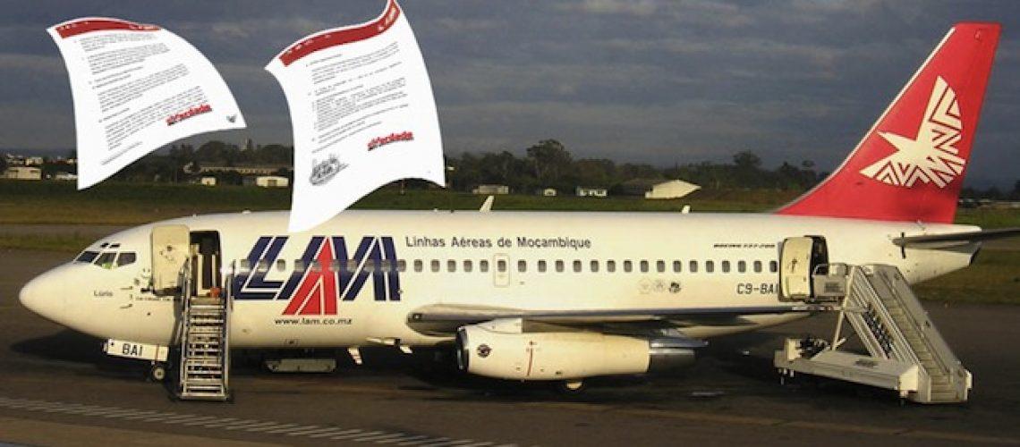 Linhas Aéreas de Moçambique são obrigadas a informar por escrito atrasos superiores a 1 hora