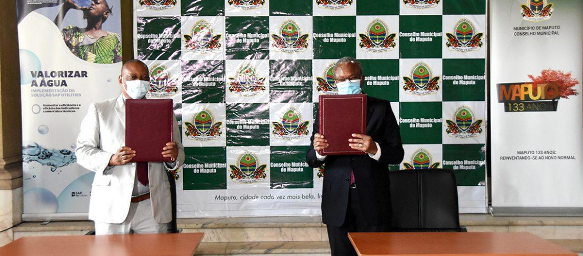 Momento após a assinatura