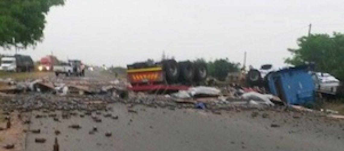 Trinta e seis óbitos por acidentes de viação nas estradas moçambicanas em uma semana