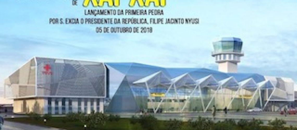 Custo do inviável aeroporto de Xai-Xai aumentou para 75 milhões do dólares