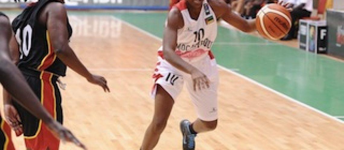 Afrobasket feminino: Moçambique mostra que ainda é vice-campeã e atropela Uganda