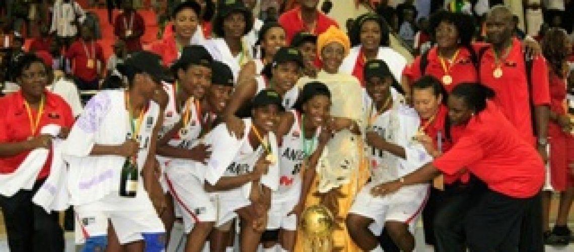 Afrobasket feminino: quinto lugar para nossas meninas