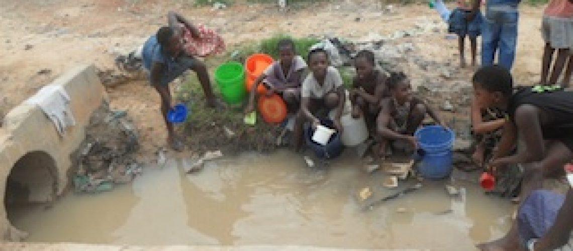 Sem acesso a água canalizada e latrinas mais de duas mil pessoas em Nampula padecem de diarreias agudas