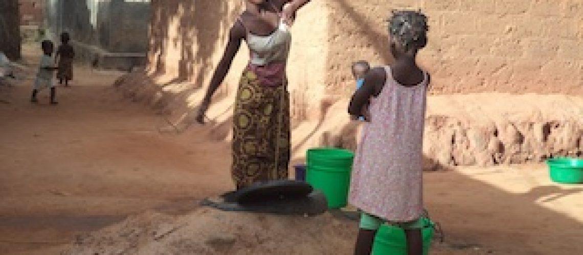 """""""Bebemos água dos poços e não tratada com cloro"""