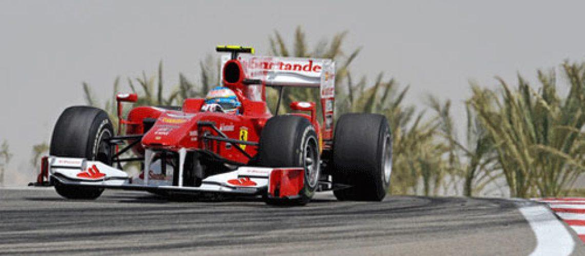Alonso já ganha com a Ferrari!