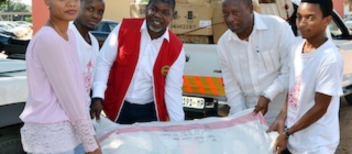 Universidade Politécnica presta apoia às vítimas dos ciclones Idai e Kenneth
