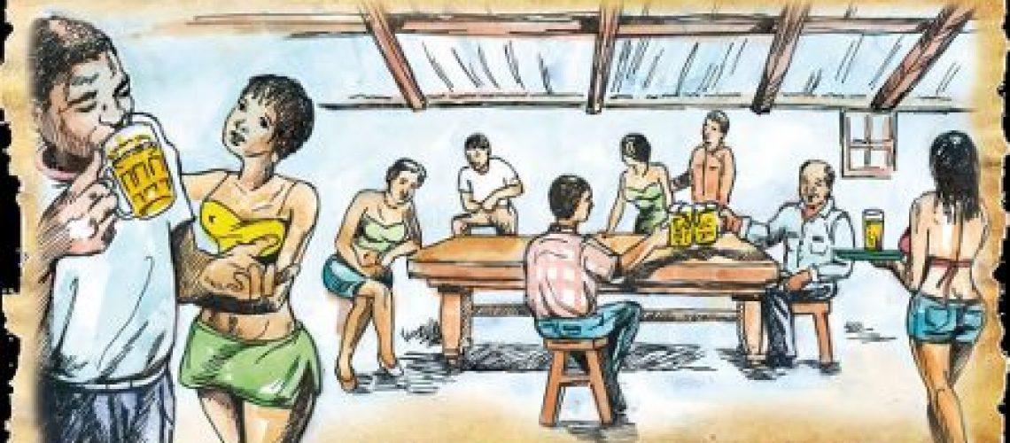 Bares de alterne caseiros - Convívios íntimos