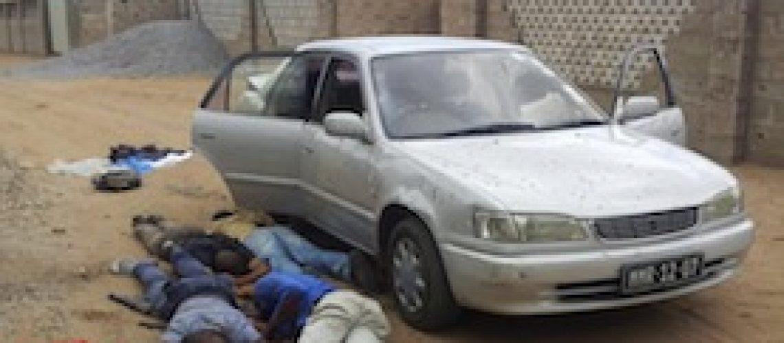 Polícia abate quatro supostos assaltantes na Matola-Rio