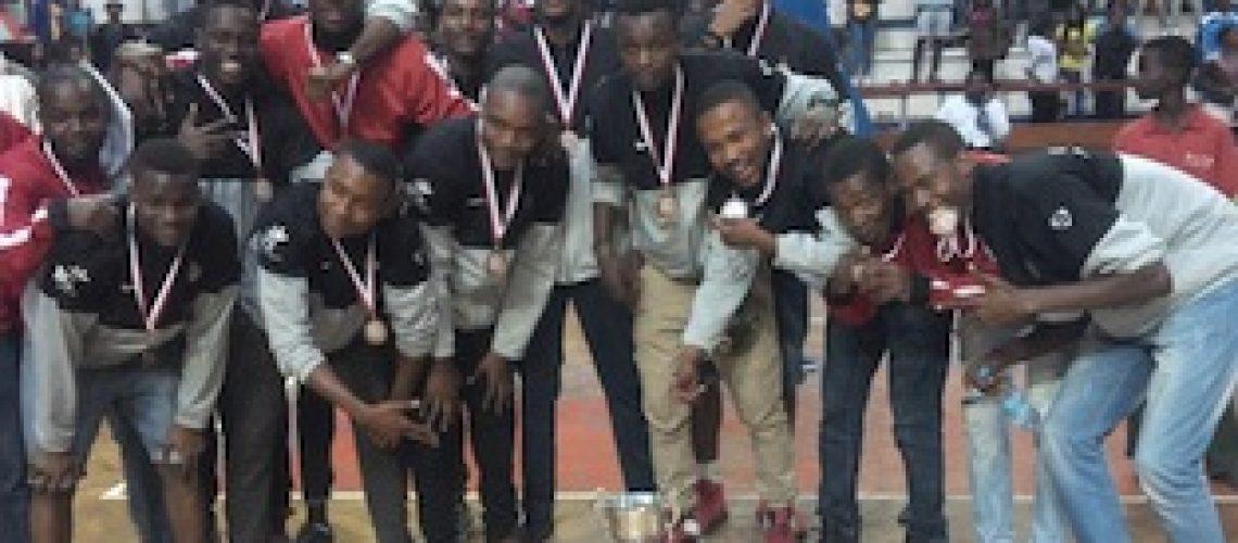 A Politécnica é a terceira melhor equipa masculina de basquetebol de Moçambique