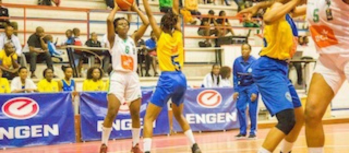 """""""Ferroviárias"""" de Maputo mantém reinado no basquetebol feminino pelo 6º ano consecutivo"""