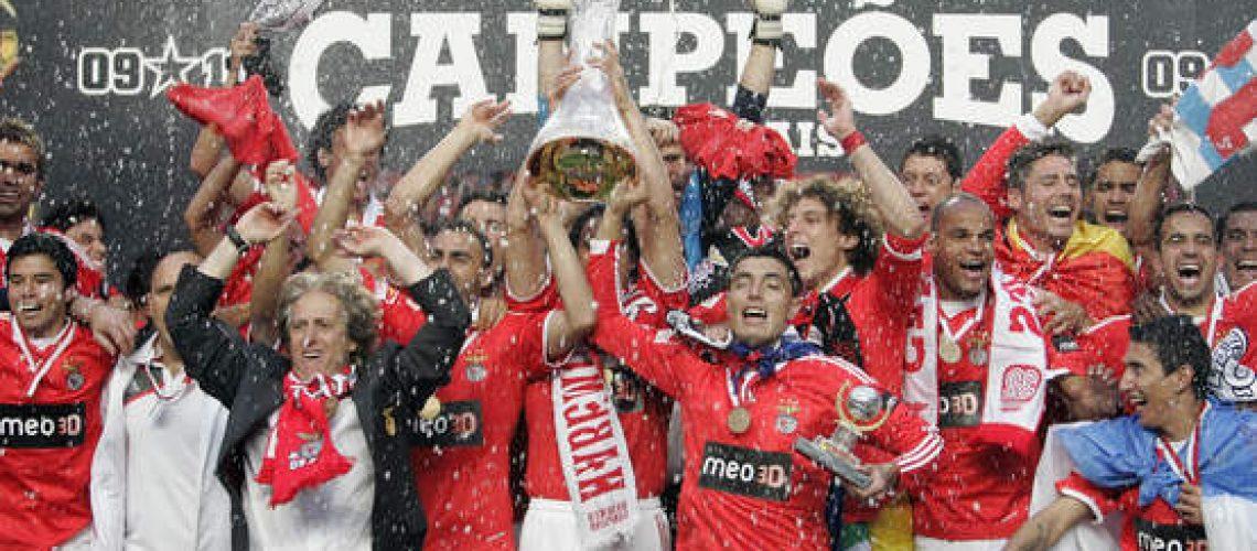 Benfica campeão português de futebol