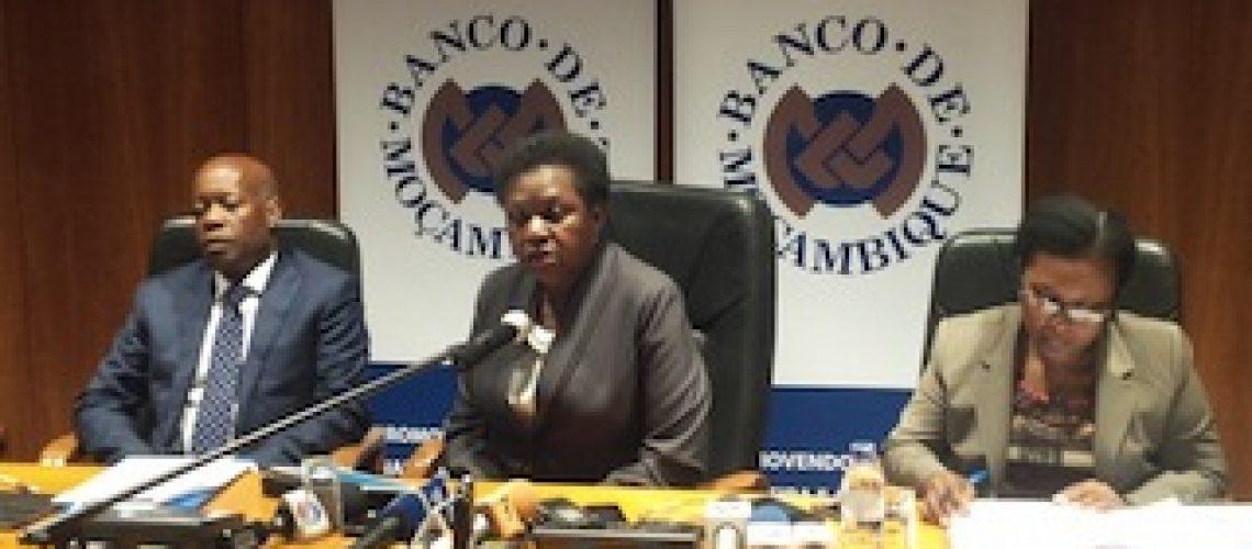 """Banco Moçambique procura comprador para Moza e tranquiliza """"o nosso sistema bancário goza de uma boa saúde"""""""