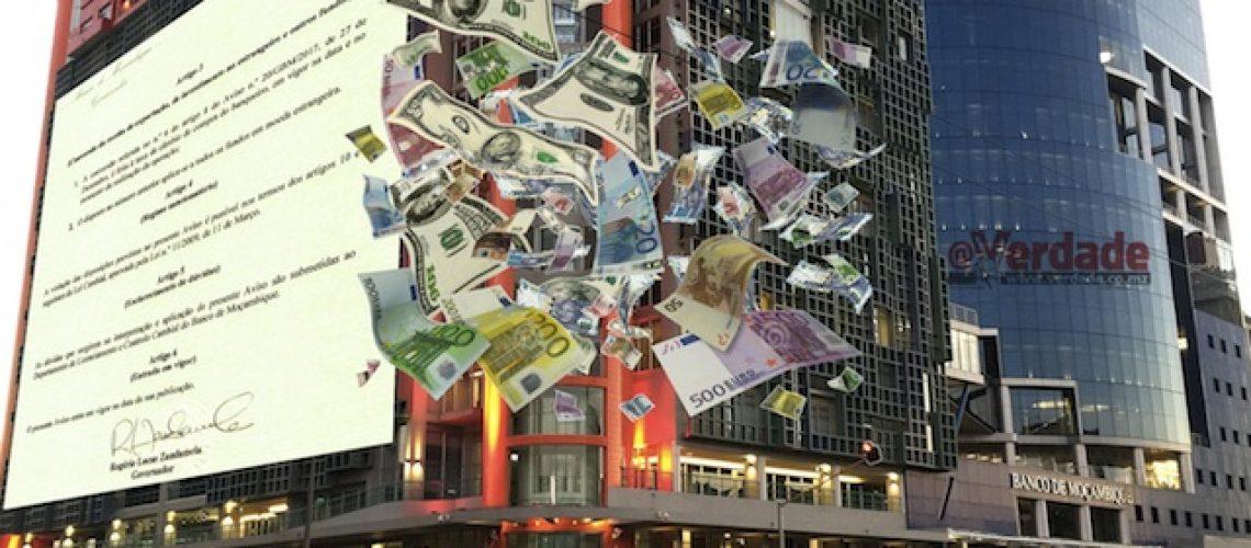 Banco de Moçambique revê Lei Cambial para conter especulação de divisas