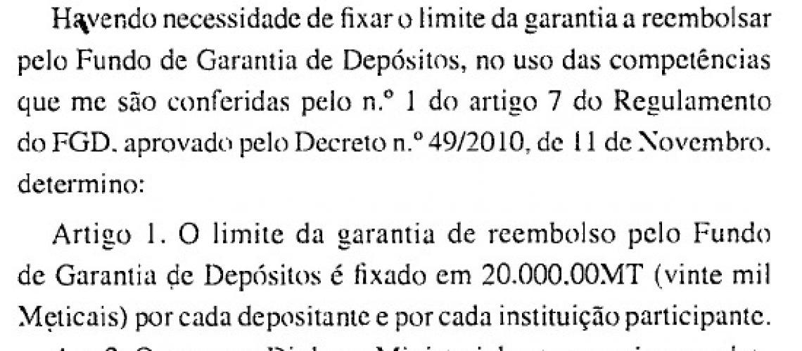 Dissolução do Nosso Banco estava a ser preparada desde Março