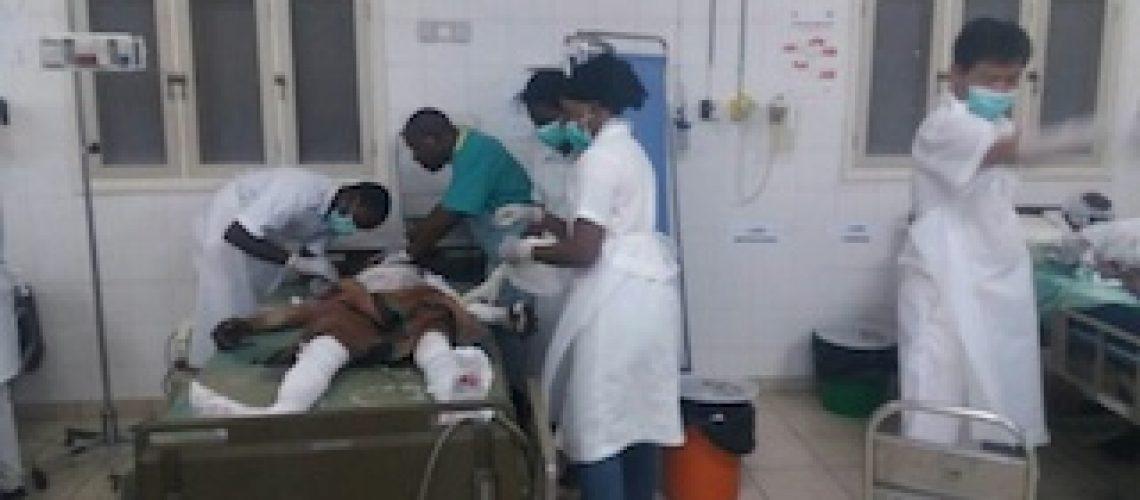 Mulher grávida e crianças entre as 80 vítimas mortais da tragédia de Caphiridzange