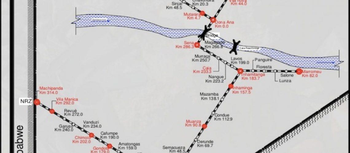 Rescisão da concessão do Sistema Ferroviário do Centro custa 80 milhões de dólares a Moçambique