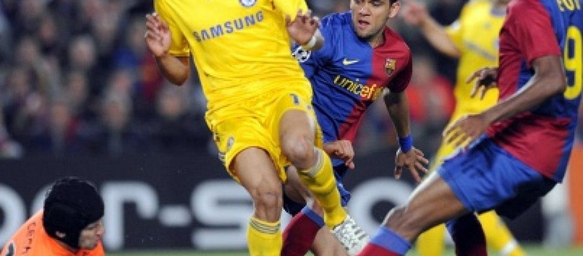 Decisão da semifinal Barcelona - Chelsea fica para Stamford Bridge