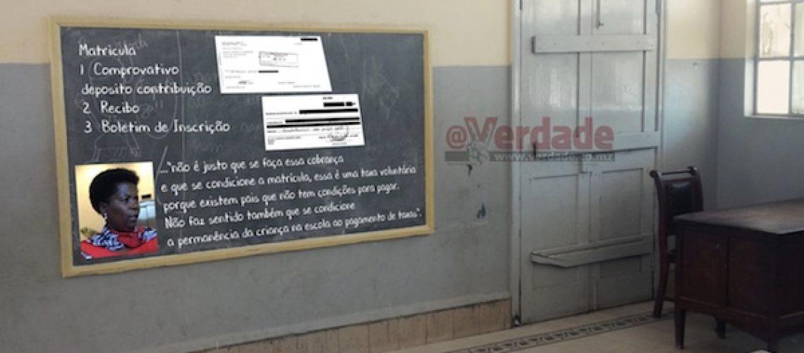 """Ministra da Educação reitera que ensino primário é gratuito em Moçambique: """"Não é justo que se faça essa cobrança e que se condicione a matrícula"""""""