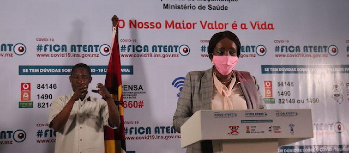 Oito novos infectados na Província de Maputo