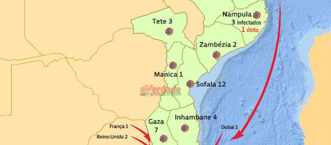 Mulher adulta é segundo óbito da covid-19 em Moçambique