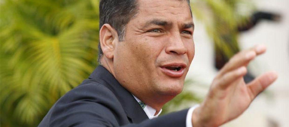 Correa: o presidente dos recordes que tenta a reeleição no Equador