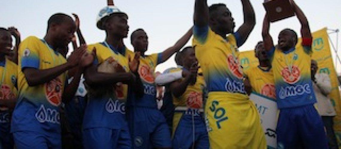 Arbitragem entrega Taça de Moçambique ao Costa do Sol