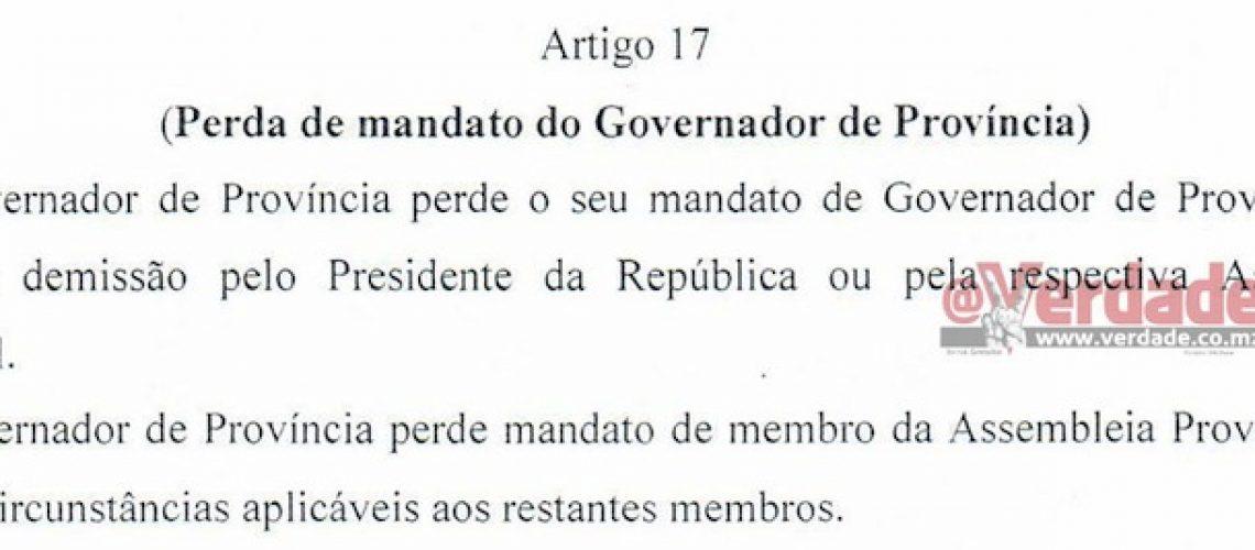 Algumas leis que a governação descentralizada em Moçambique vai colocar em desuso
