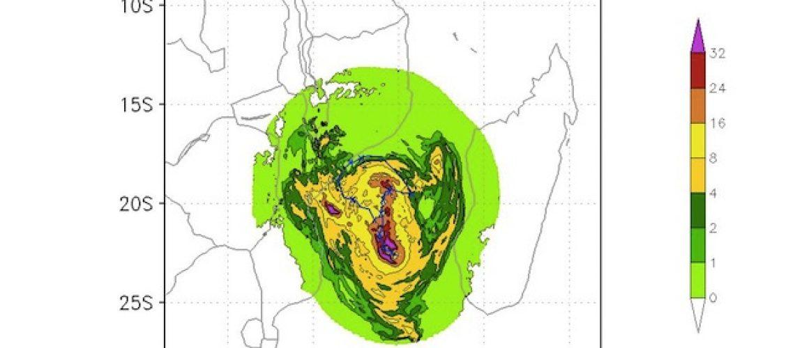 Tempestade Tropical Desmond em Sofala e Zambézia