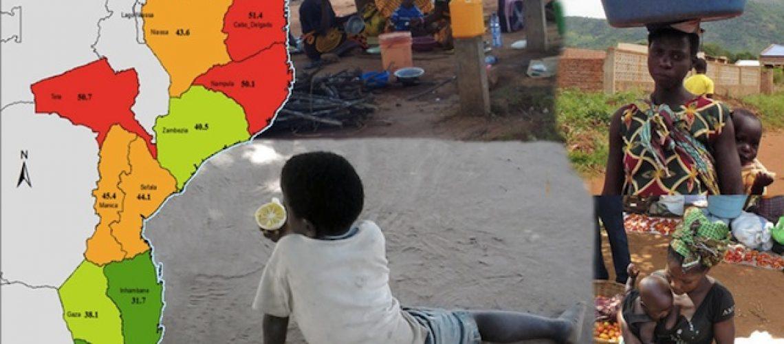 Mais de dez milhões de moçambicanos vivem desde 2008 em desnutrição crónica