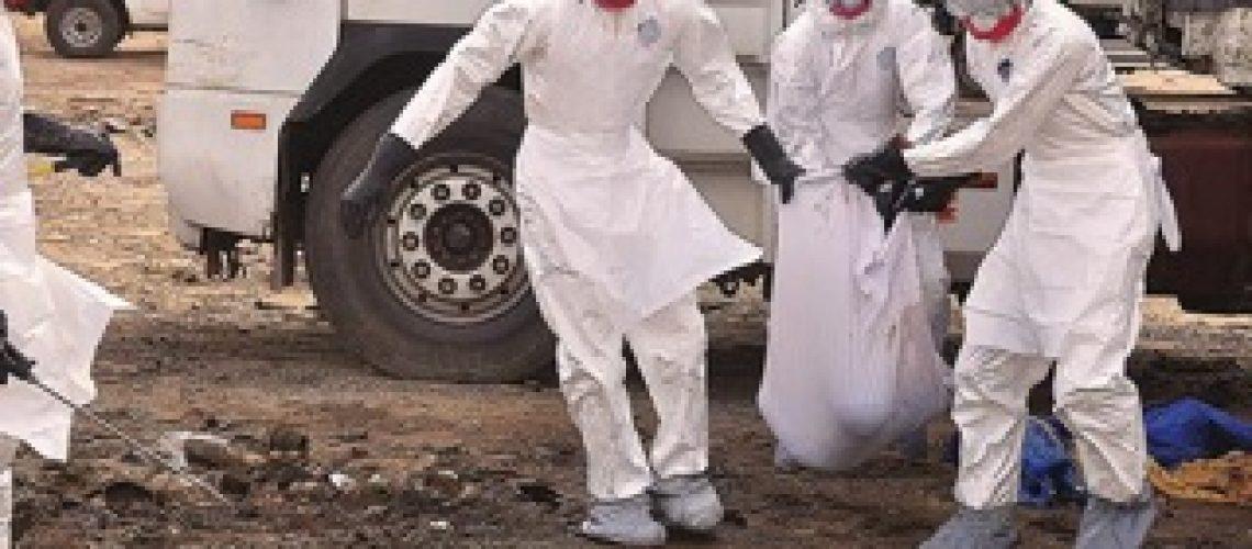 Nigéria regista terceira morte por ébola