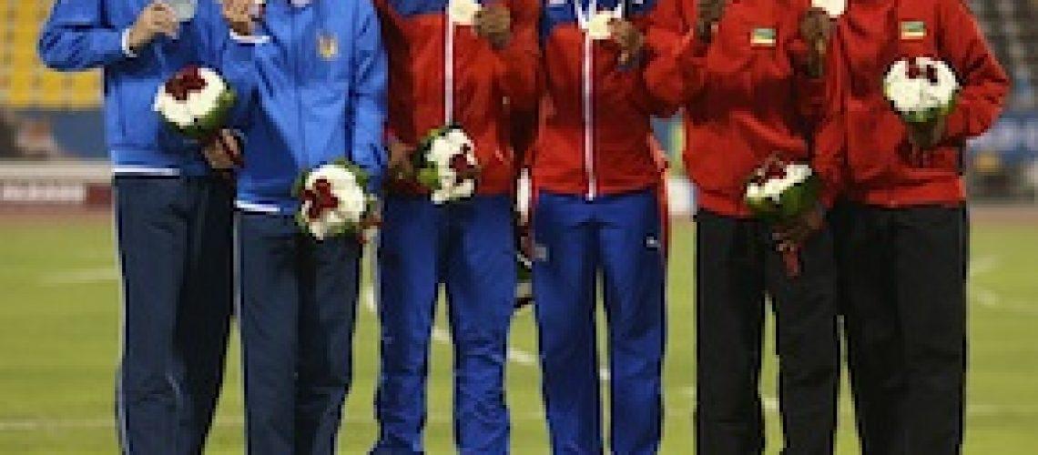 "Edmilsa conquista medalha e estabelece novo record africano nos ""Mundiais"" de Doha"