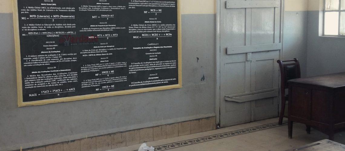 Novo Regulamento de Avaliação da Educação em Moçambique muda o cálculo da Nota Final e aumenta disciplinas a serem examinadas
