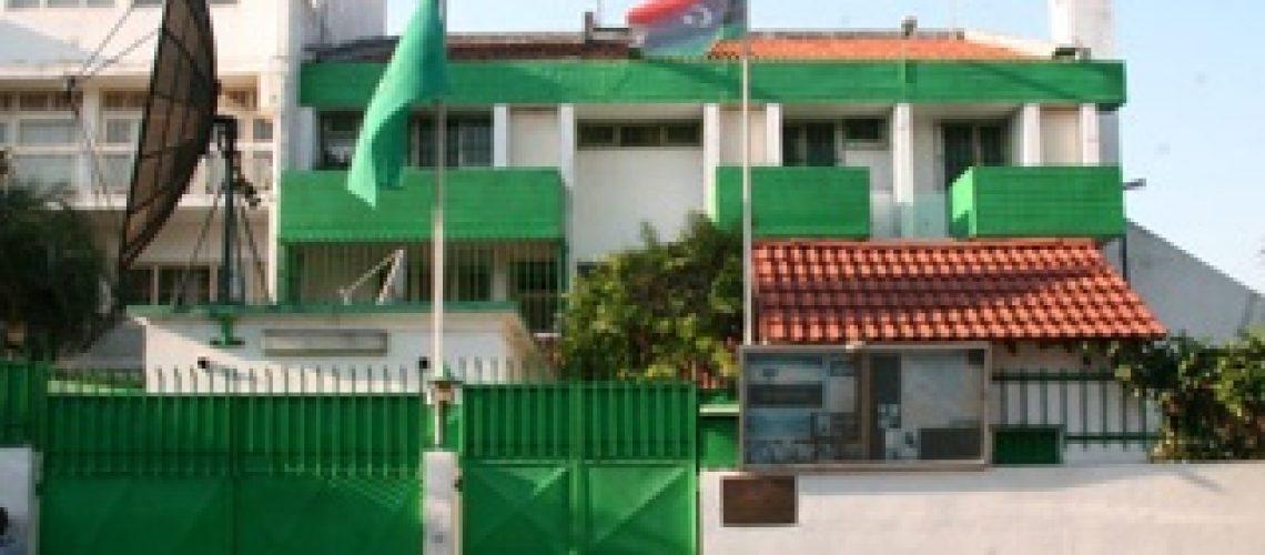 Embaixada da Líbia em Maputo já içou a bandeira dos rebeldes