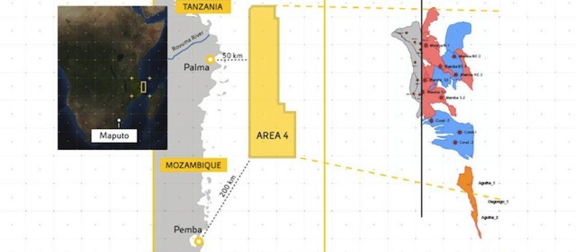 Eni conclui venda de 25% dos seus interesses na Área 4 em Moçambique e já pagou Imposto de Mais-Valia