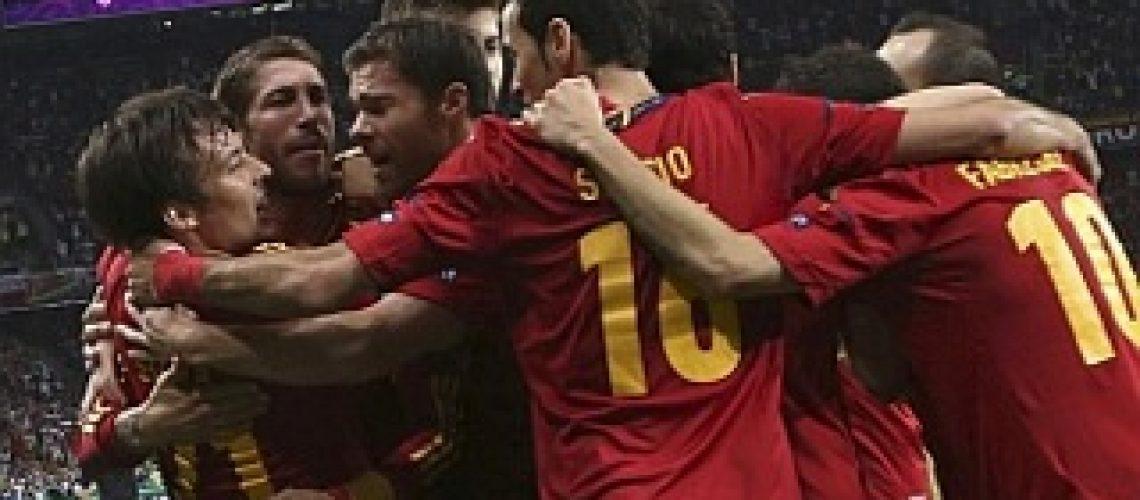 Euro 2012: Espanha joga bonito