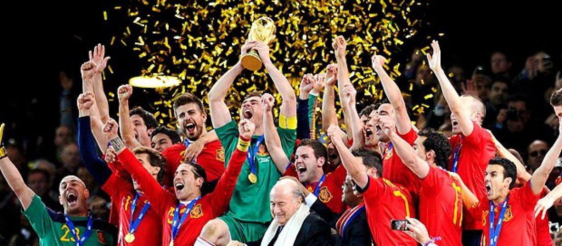 Fúria espanhola conquista o Mundial de futebol em Àfrica