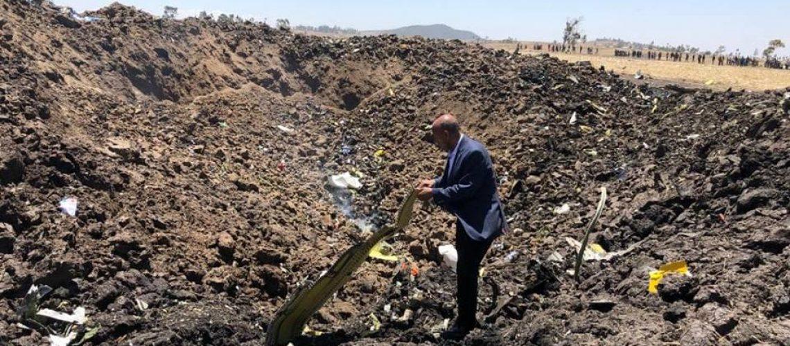 Moçambicano entre as 157 vítimas do despenhamento do novíssimo Boeing da Ethiopia Airlines