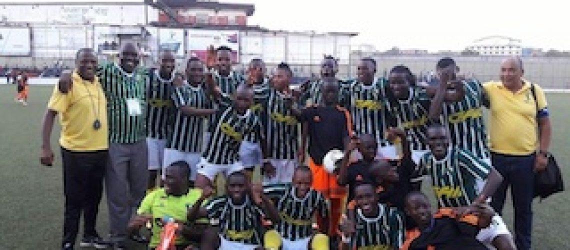 """Soarito defende penáltis """"como estava planificado"""" e Ferroviário da Beira está na Liga dos Campeões africanos"""