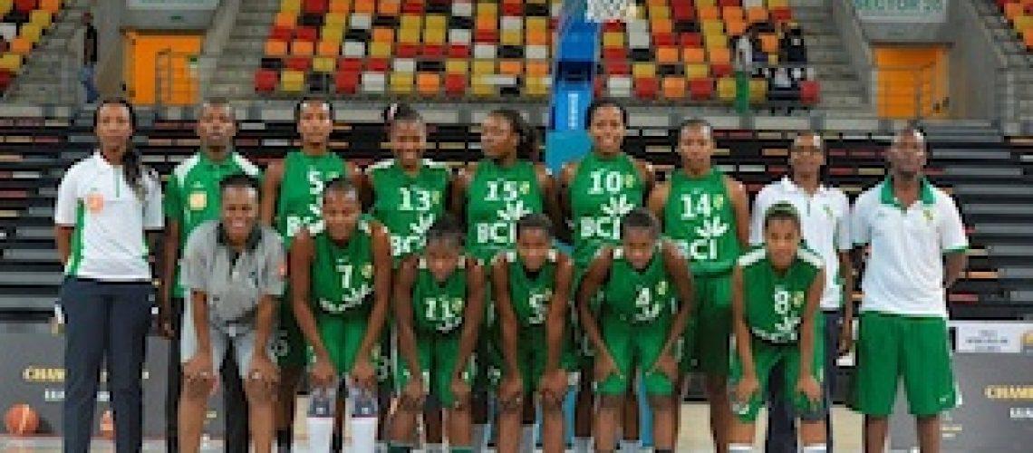 Afrobasket de clubes femininos: locomotivas de Maputo vencem Dolphins da Nigéria e apuram-se para meias-finais