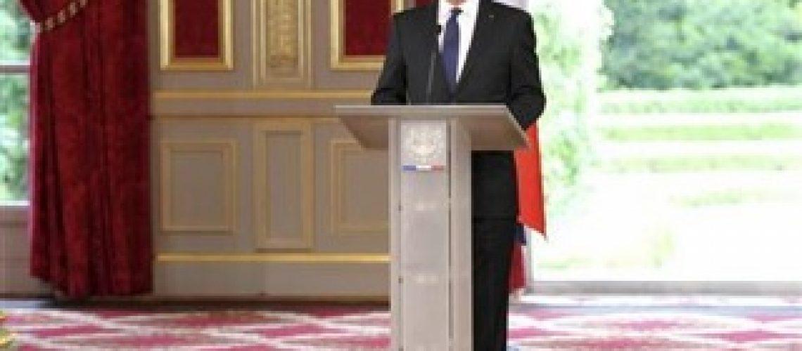 Hollande toma posse como novo presidente da França
