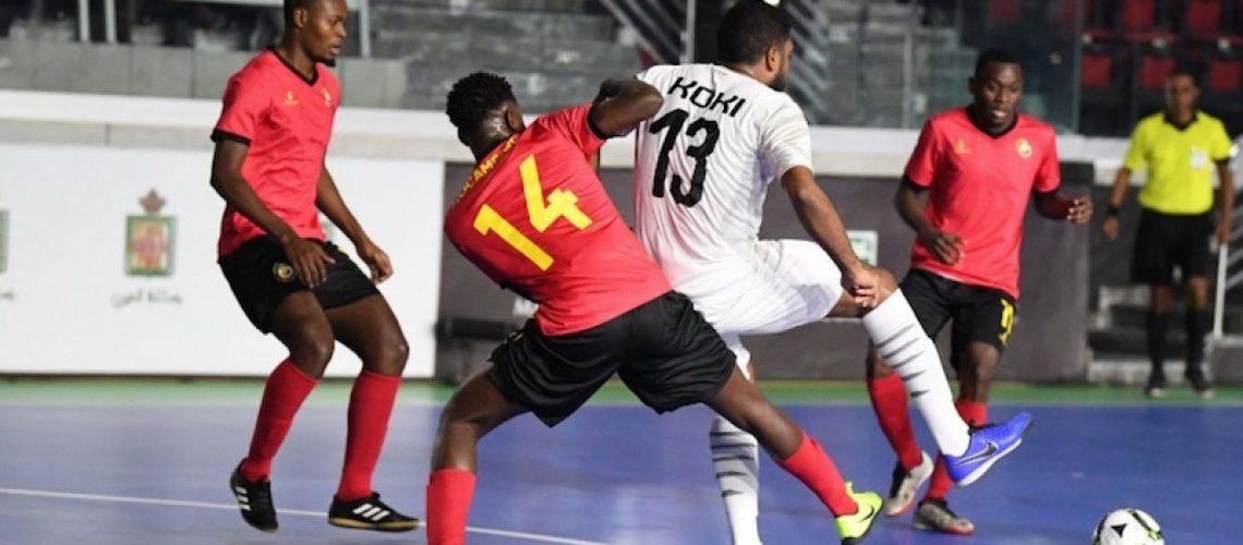 Moçambique termina CAN de futsal sem glória nem honra