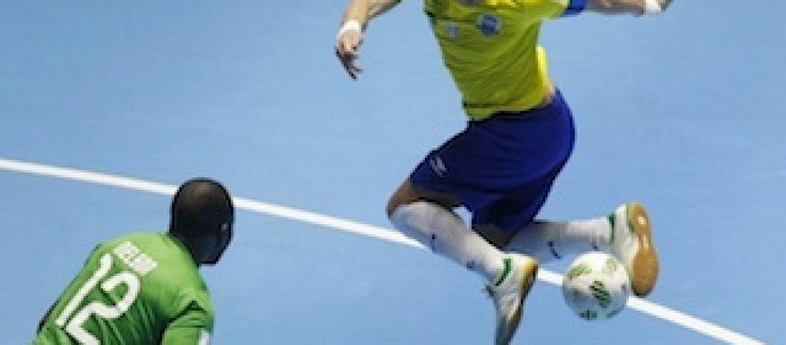 Moçambique sofre maior goleada do Mundial de Futsal diante do Brasil