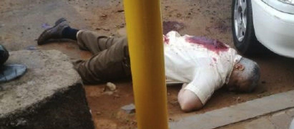 Gilles Cistac assassinado na capital de Moçambique